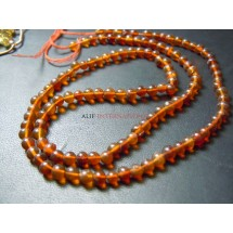 Russian Amber Smooth Round Ball Beads