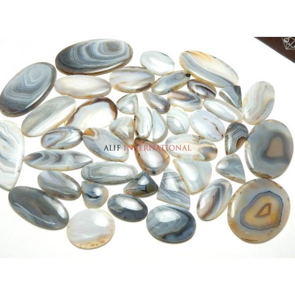 Botswana Agate Cabochon Gemstone Wholesale