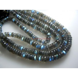 AAA Quality Blue Fire Labradorite Smooth  Beads size - 6 to 7MM Wholesale Price