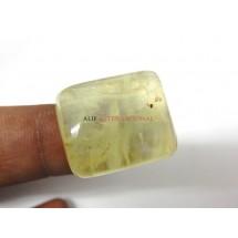 Yellow-Prehnite Cabochon Gemstone 20x24MM