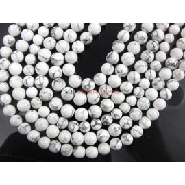 Natural Hawolite Smooth Round Ball Gemstone Beads
